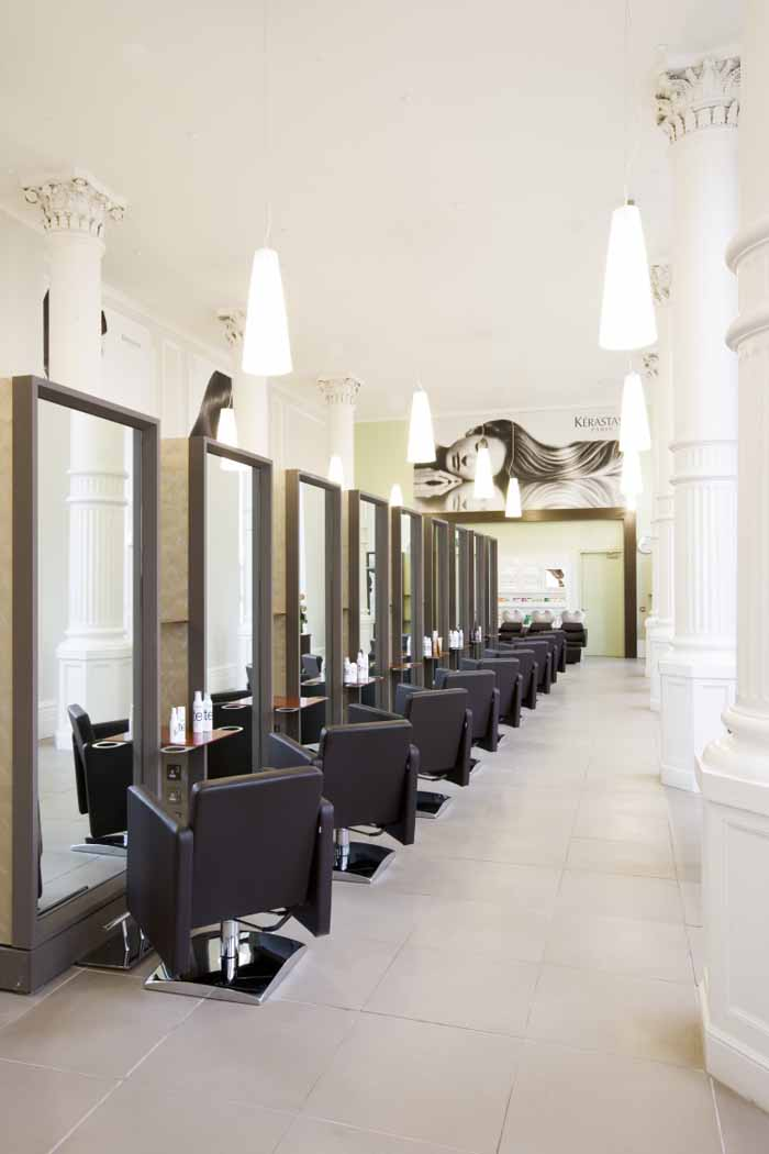 Beauty salon floor plans hair salon design hair salon for A beautiful you salon