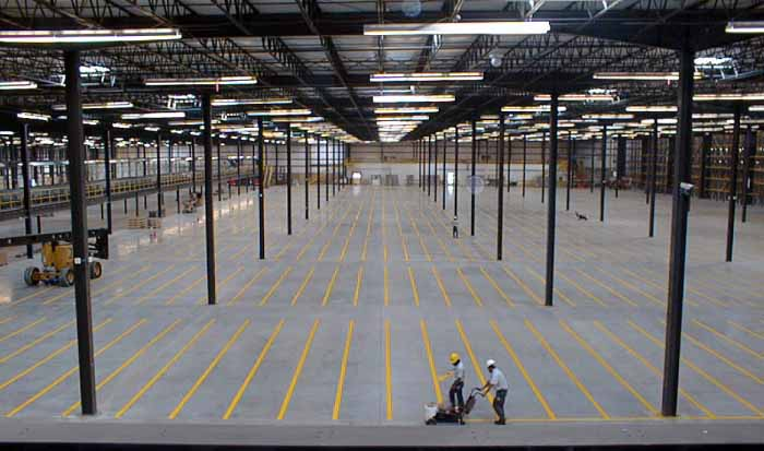 Warehouse floor plans including offices mezzanines and for Warehouse building plans